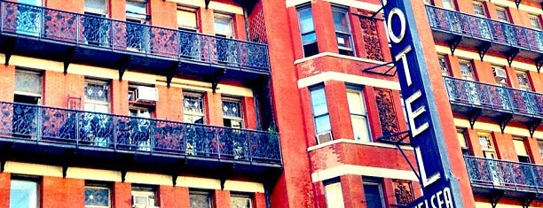 Hotel Chelsea is one of NYC, I'm not a tourist, but a mobile citizen.