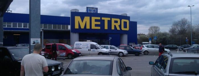 METRO is one of Orte, die 83 gefallen.