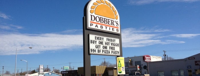 Dobber's Pasties is one of Chrisito's Liked Places.