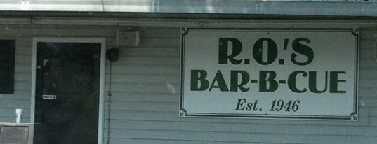 R.O.'s Bar-B-Q is one of Jimmyさんの保存済みスポット.