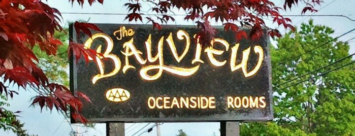 Bayview Hotel Inn & Restaurant is one of Best Places to Check out in United States Pt 2.