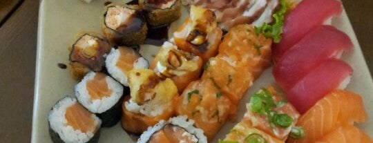 Nakoo Sushi is one of Pé na Jaca no JAPONÊS 🙈.