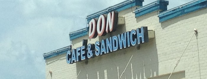 Don Café & Sandwich is one of Lieux qui ont plu à Jason.