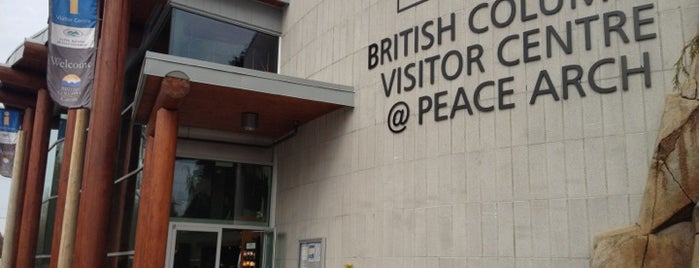 British Columbia Visitor Centre @ Peace Arch is one of British Columbia Visitor Centres.
