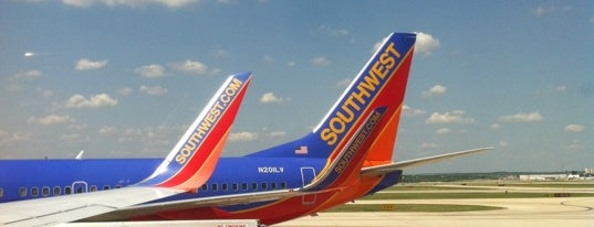 San Antonio International Airport (SAT) is one of AIRPORT.