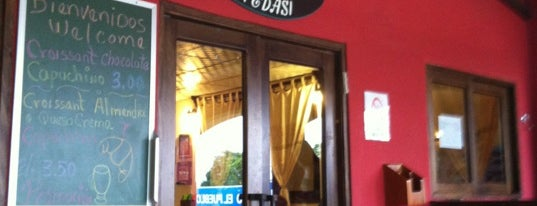 The Bakery is one of Pizzerias Italiana comida.