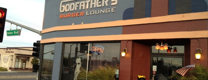 Godfather's Burger Lounge is one of Posti che sono piaciuti a Christopher.