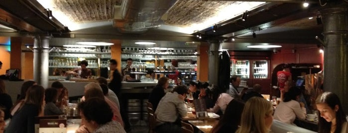 Belgo is one of London eats.