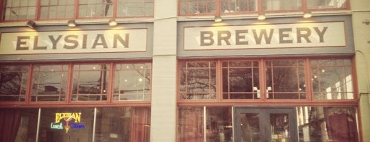 Elysian Brewing Company is one of 2012 MLA Seattle.