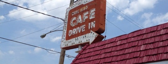 George The Chili King Drive-Inn is one of Evan[Bu] Des Moines Hot Spots!.