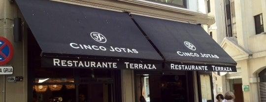 Mesón 5 Jotas is one of Spain.