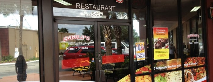 Camila's Restaurant is one of Orlando.