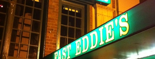 Fast Eddie's Sports & Billiards is one of Local Redskins Rally Bars.