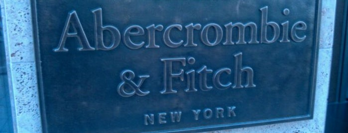 Abercrombie & Fitch is one of Dus.