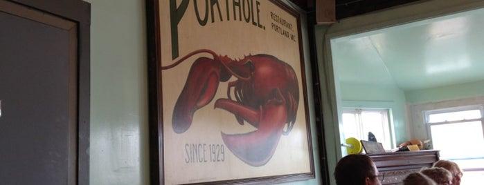 The Porthole is one of Portland, ME.