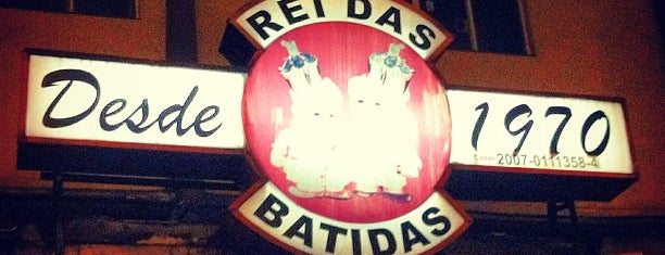 Rei das Batidas is one of SP | Barzinhos.