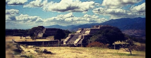 Monte Albán is one of OAXACA MEXICO.