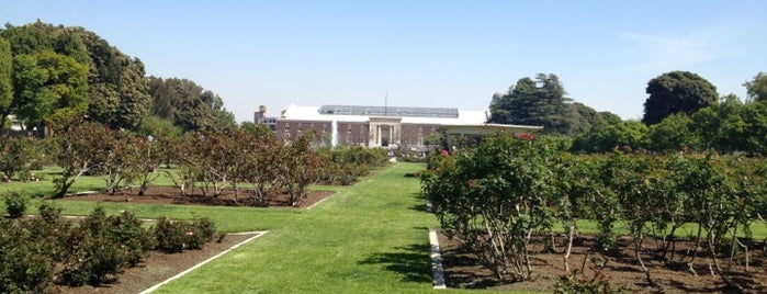 Exposition Park Rose Garden is one of LA baby.