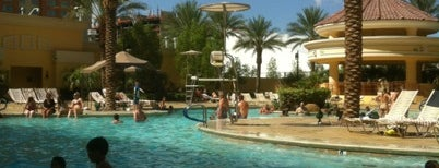 Pool @ The South Point Hotel And Casino is one of Outdoor Fun.