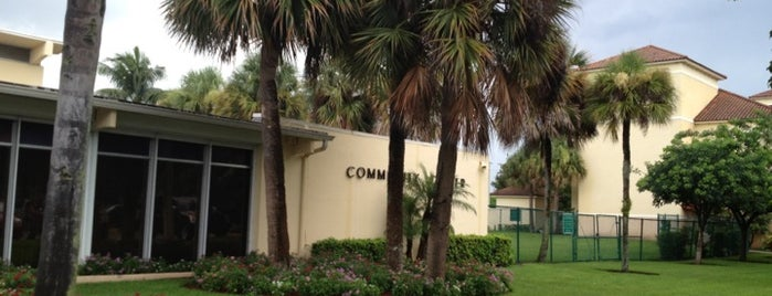 Delray Beach Community Center is one of Delray.