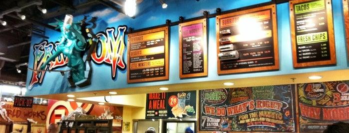 Freebirds World Burrito is one of Daily Sundial : Restaurant Guide 2012.