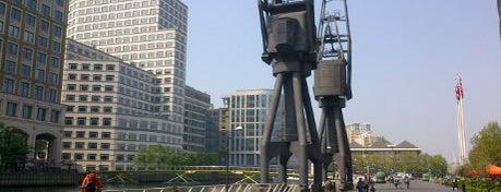 Canary Wharf is one of Twenty-One London Picks.
