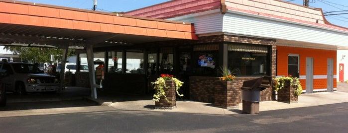 Rudy's Drive In is one of Orte, die David gefallen.