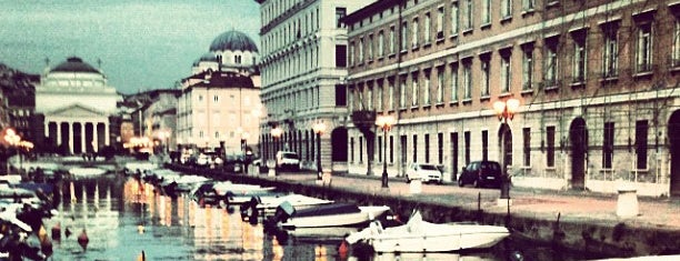 Canal Grande is one of Triest.