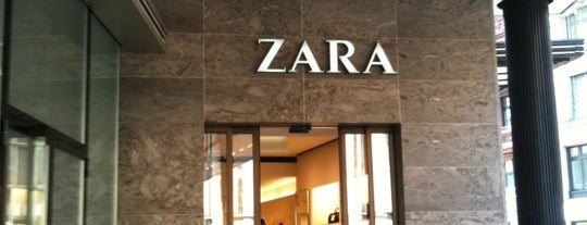 Zara is one of Zurich: business trip 2014-2015.