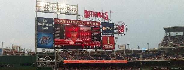 Nationals Park is one of MLB Stadium Quest.