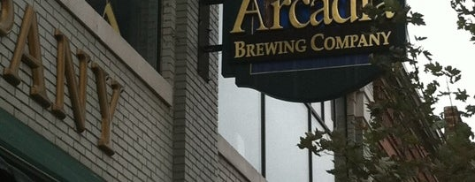 Arcadia Brewing Company is one of Best US Breweries--Brewery Bucket List.