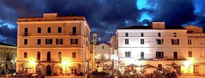 Piazza Vittorio Emanuele is one of SARDEGNA - ITALY.