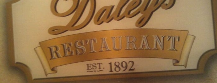 Daley's Restaurant is one of Nikkia Jさんの保存済みスポット.