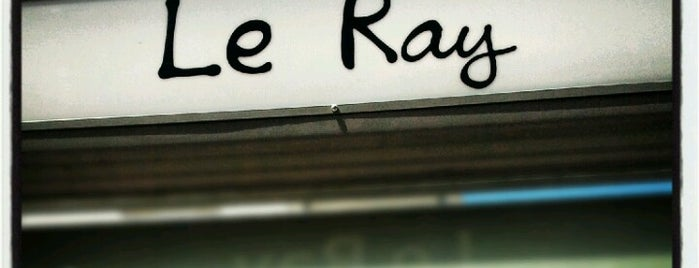 Station Le Ray [T1] is one of Pedro 님이 좋아한 장소.