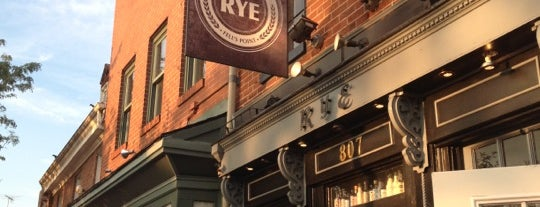 Rye Craft Cocktails is one of Baltimore Sun's 50 Best Bars (2013).