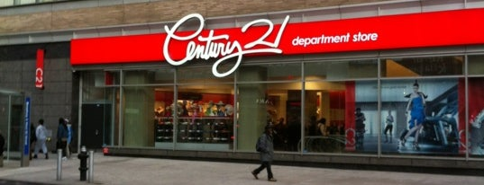 Century 21 Department Store is one of New York.