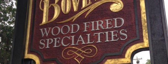 Bovine's Wood Fired Restaurant is one of Lieux sauvegardés par Lizzie.