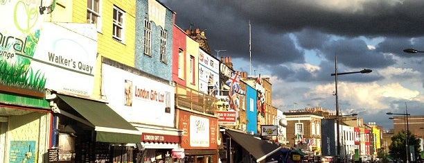 Camden Town is one of LONDON.
