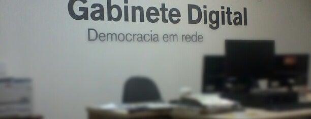 QG Gabinete Digital is one of Lugares favoritos de Thiago.