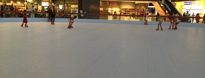 Marina Bay Sands Skating Rink is one of Singapore/シンガポール.