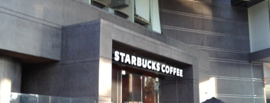 Starbucks is one of CAFÉ top places.