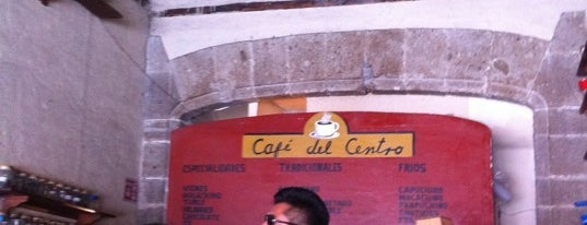 Café del Centro is one of Café / Té & Pan.