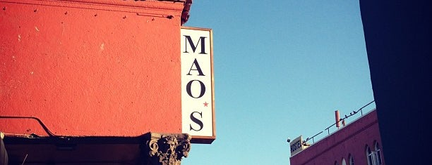 Mao's Kitchen is one of LA eats.