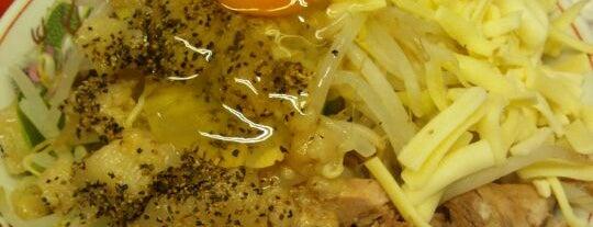 """麺徳 東陽町店 is one of ŧ‹""""ŧ‹""""(๑´ㅂ`๑)ŧ‹""""ŧ‹""""."""