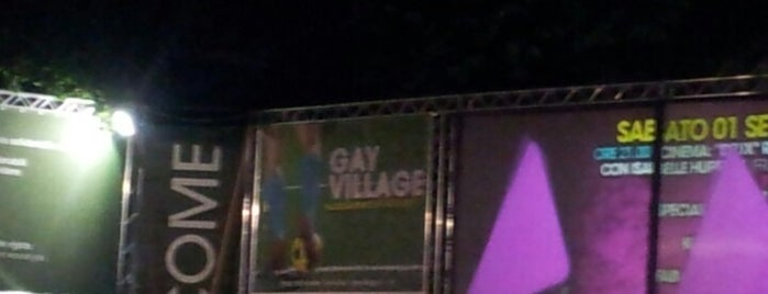 Gay Village 2012 is one of Nightlife in Rome.
