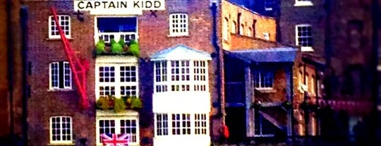 Captain Kidd is one of London Pubs.