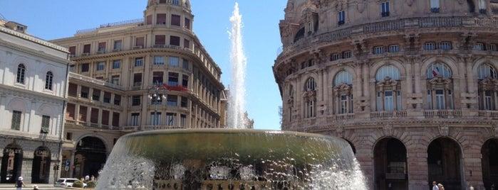 Genova is one of Italian Cities.
