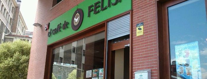 El Café de Felisa is one of ESPAÑA ★ Menú del día máx. 12€ ★.