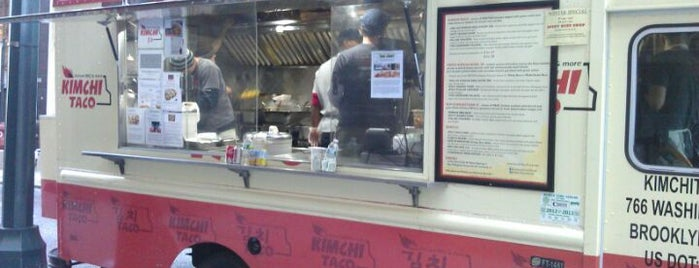 Kimchi Taco Truck is one of NYC Food on Wheels.