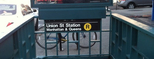 MTA Subway - Union St (R) is one of Trainspotter Badge.